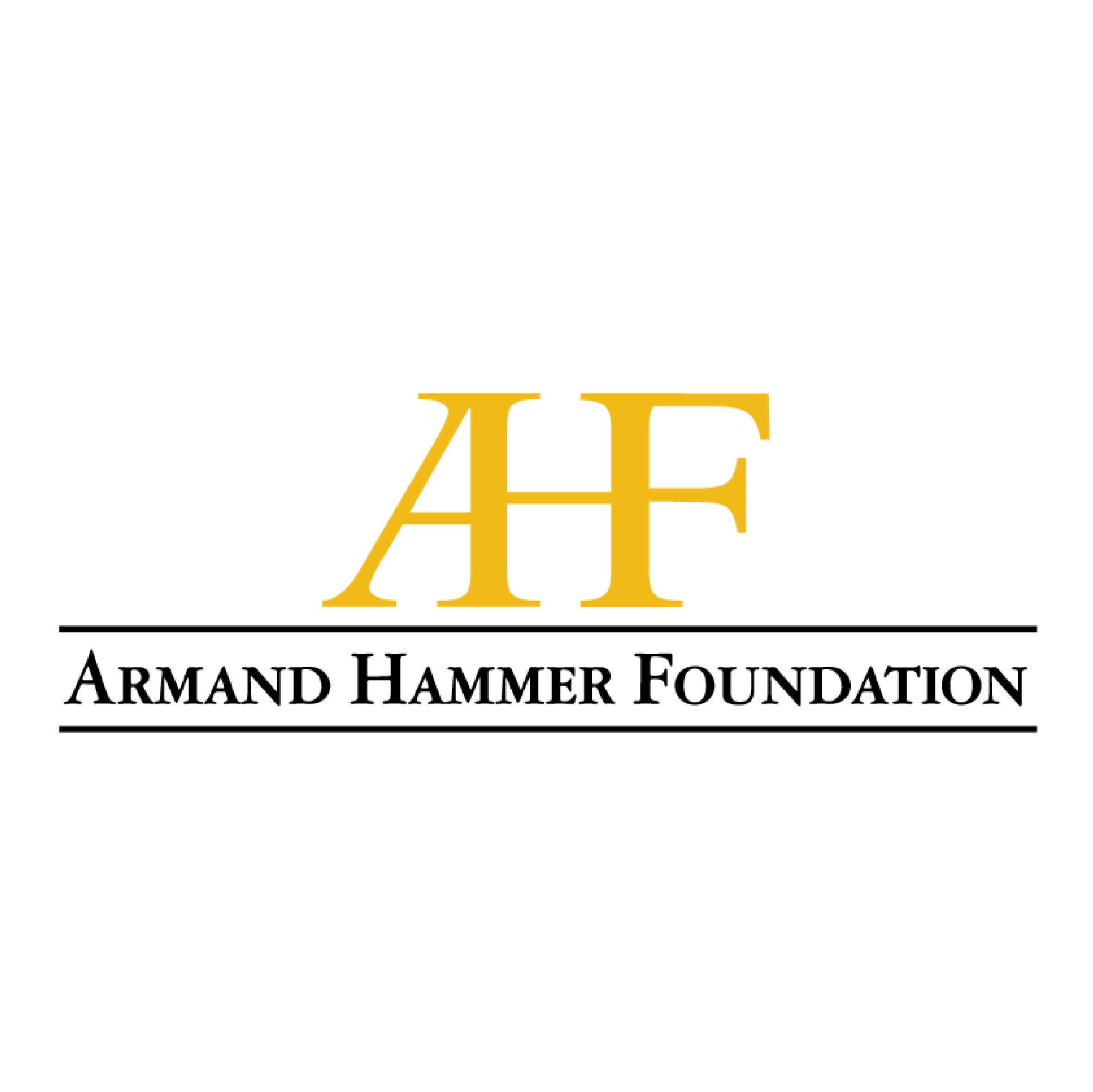 Armand Hammer Foundation logo.