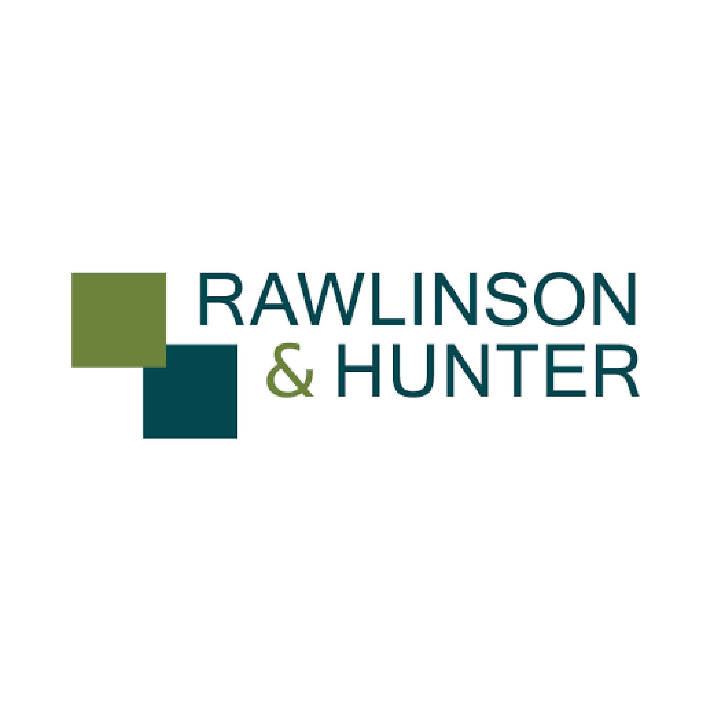 Rawlinson and Hunter logo.