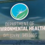 The Department of Environmental Health logo, deh.gov.ky, 949-6696.