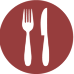 Icon of a fork and knife.