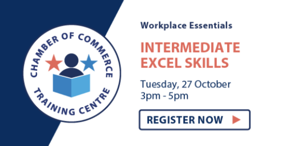 27 Oct - Intermediate Excel - Block
